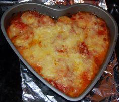 Prinsessä Nautasikaan kasviskeittokirja: Lasagneton lasagne: rosamunda-perunaviipaleet uunissa