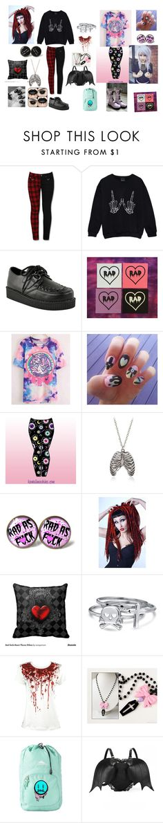 """""""Goth and Pastel Goth"""" by xfallencreature ❤ liked on Polyvore featuring Bling Jewelry"""