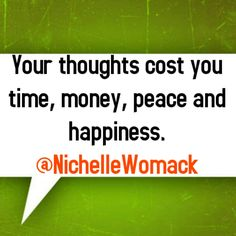 Don't let your thoughts hold you back. #successs