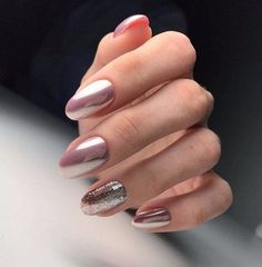 Black Gold Nails Nail Art Ideas for Mauve Manicure Classy Nail Designs, Pretty Nail Designs, Best Nail Art Designs, Spring Nail Art, Spring Nails, Winter Nails, Fun Nails, Pretty Nails, Modern Nails