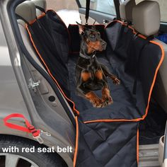 mydays waterproof quilted soft hammock seat cover with zipper bench seat cover for dogs  washable oxford fabric car back seat cover for dogs  fits all     waterproof dog hammock pet dog car seat cover with safety belt      rh   pinterest