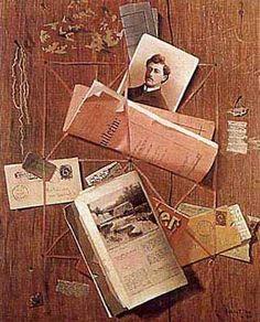 Letter Rack, John Frederick Peto, 1907