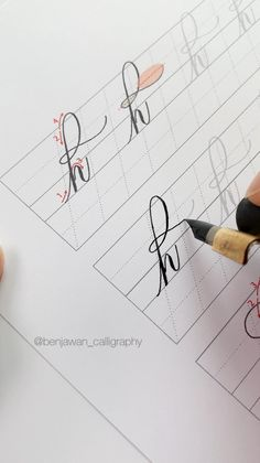 Calligraphy Lessons, Calligraphy Worksheet, Calligraphy Video, Calligraphy For Beginners, Calligraphy Tutorial, Copperplate Calligraphy, Hand Lettering Tutorial, Calligraphy Handwriting, Learn Calligraphy
