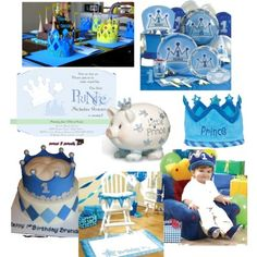 a little prince 1st birthday party   Little Prince by partiesbykristen on Polyvore.com
