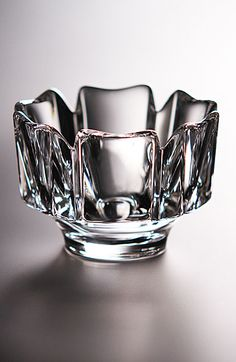 Orrefors bowl.  Have a couple of these from Sweden.  Beautiful.