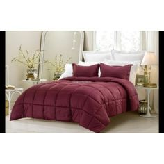 3pc-Reversible-Solid-Emboss-Striped-Comforter-Set-Oversized-110SM-8-Colors