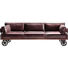 Sofa Railway 3-Seater - KARE Design Cool Couch - This charismatic couch normally…