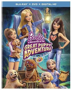 Kelly Sheridan & Kazumi Evans & Andrew Tan-Barbie & Her Sisters in The Great Puppy Adventure
