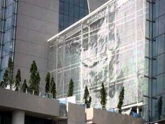 Kinetic Facade at the Marina Bay Sands