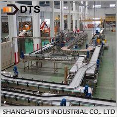 Automatic plastic chain conveyor belt Conveyor System, Conveyor Belt, Shanghai, Flow, Plastic, Chain, Necklaces, Band