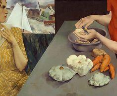 Peter Blume, Vegetable Dinner, 1927
