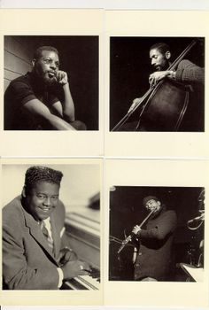 Fats Domino Blues musicians 4  photo postcards by Fishinfowl, $5.00