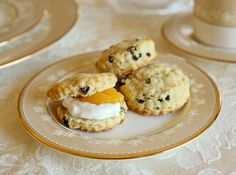Three simple recipes to recreate an authentic High Tea experience for a bridal shower:  Currant Scones, Devonshire Cream and homemade Lemon Curd.