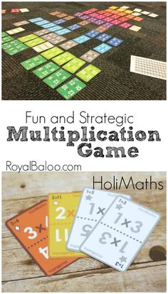Practice multiplication with this fun and strategic multiplication game from…