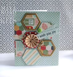 I Wish You Joy Card featuring the Oh Deer Classic Card Kit by Maya Road