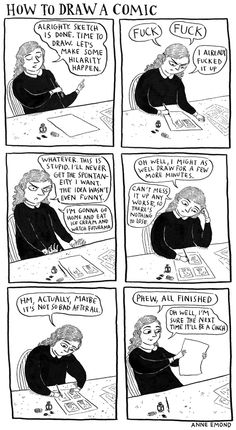 How to draw a comic