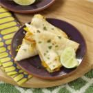 Margarita Chicken Quesadillas