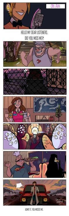 Night Vale and Gravity Falls crossover: