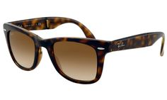 Ray Ban Folding Wayfarer Sunglasses Light Havana Frame Crystal Brown  Gradient Lens - Up to off rayban sunglasses for sale online, Global express  delivery ... 81a44d649f