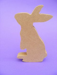 Lovely MDF shape available in different heights and thicknesses Choose for a nice chunky shape that stands up well on its own at 12 high As Wooden Letters, Bunny Rabbit, Dinosaur Stuffed Animal, Craft Projects, Scrapbooking, Shapes, Nice, Toys, Crafts