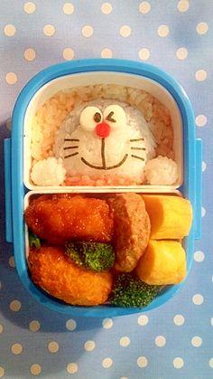 """Doraemon"" - japanese recipe/キャラ弁☆ドラえもん"