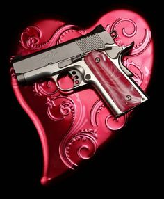 A Kimber .45 caliber pistol at Big Boy's Guns and Ammo in Oklahoma City. Steve Gooch - The Oklahoman