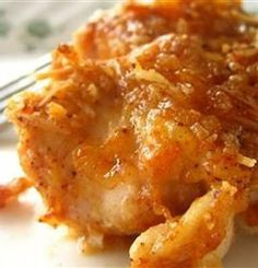 Recipe for Baked Paprika-Parmesan Chicken - This unique combination of ingredients makes a fantastic dish that all your family will love.