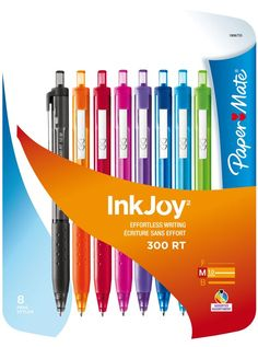 Paper Mate InkJoy pens great for back to school and office supplies