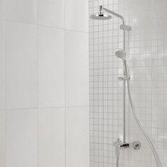 Faïence mur blanc, décor tulli l.30 x L.60 cm
