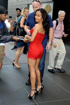 Jada Smith in Red Valentino Jumsuit