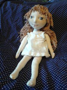 Новая текстильная кукла