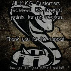 To become a K.K.G customer, create an account on our website. Earn points on purchases and referrals! #kobrakydexgear #loyaltyrewardsprogram #customersupport