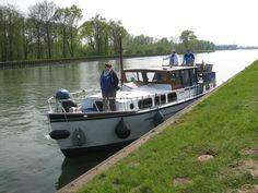 """Mit der Charteryacht """"Hannibal"""" auf dem Rhein-Herne-Kanal"""