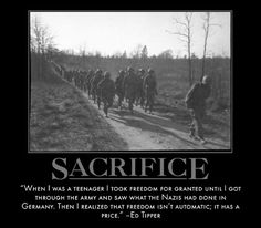 Motivational Posters: Band of Brothers on Sacrifice