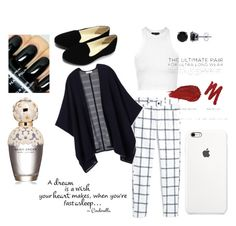 """Untitled #32"" by heather-lee-reynoso on Polyvore featuring Topshop, MANGO, Tory Burch, BERRICLE, Urban Decay, Marc Jacobs, women's clothing, women, female and woman"