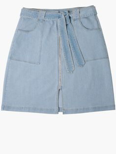 Buy It Now: 15 Denim Skirts That'll Refresh Your Spring Wardrobe Like Whoa | People - Eloquii