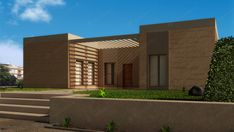 Casas de madera de estilo completamente personalizable. Garage Doors, Mansions, House Styles, Outdoor Decor, Home Decor, Interior Walls, Timber House, Style At Home, Flooring