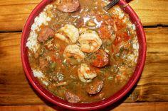 Creole Contessa: Smokey Creole Gumbo with Hot Sauce