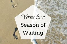 Verses for a season of waiting