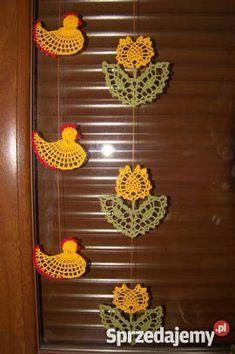 Ozdoby świąteczne wielkanocne zawieszki na okno Wyposażenie wnętrz Ostrzeszów