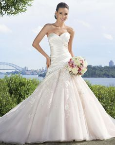 Soft Classic Collection: Sophia Tolli #A-Line-Wedding-Dresses Spring 2013
