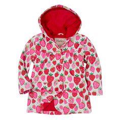 Hatley Girls Strawberry Sundae Raincoat - Fairy Blossom and Friends d8c5b7775