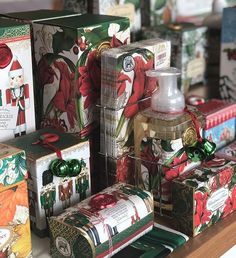 Short on space? Get more collections into a smaller space by lining them up by size front to back. Repost from Store Displays, Retail Design, Winter Wonderland, Small Spaces, Gift Wrapping, Collections, Instagram, Creative, United States