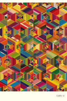 CUBEN 12 (Part 1) - excites   Graphic Designer   Simon C Page