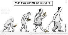 La evolución del humor.