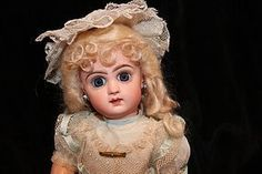 "14"" closed mouth Jumeau - Dolls of Yesterday #dollshopsunited"