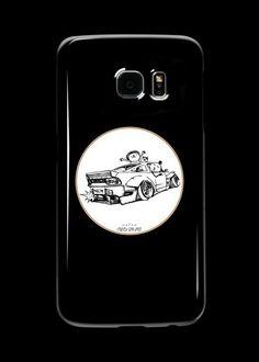 'Crazy Car Art Case/Skin for Samsung Galaxy by ozizo Weird Cars, Car Illustration, Kustom Kulture, Samsung Galaxy, Drawings, Artwork, Prints, Work Of Art, Auguste Rodin Artwork