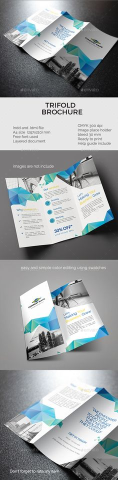 Corporate Trifold Brochure vol 4 - Corporate Brochures Download here : http://graphicriver.net/item/corporate-trifold-brochure-vol-4/16836458?s_rank=74&ref=Al-fatih