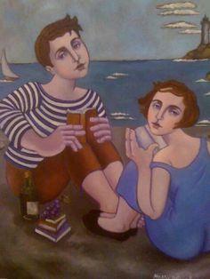 Assis, a' La Plage, Collioure