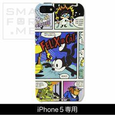 カスタムカバー iPhone 5 FELIX THE CAT(アメコミ風FELIX))【メール便発送可能】【楽天市場】